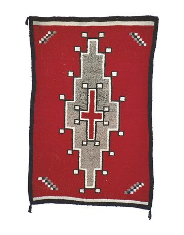 4 In 1945 I Purchased This Navajo Rug 55 X 36 1 2 Albuquerque N M From The Woman Who Made It Is Worth Anything