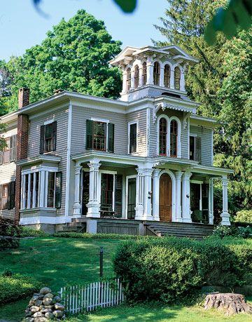 Italianate Villa in Connecticut