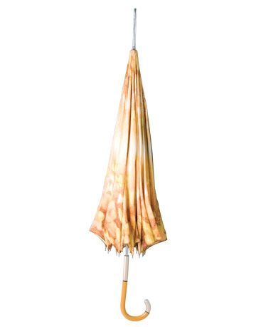soft peach floral vintage umbrella