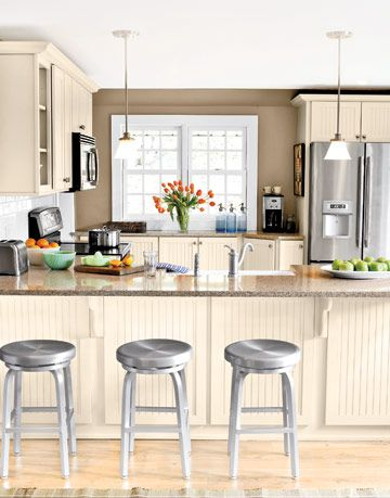 bright and airy modern kitchen