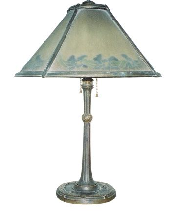 Bradley hubbard table lamp what is it what is it worth greentooth Gallery