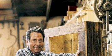 craftsman in his shop