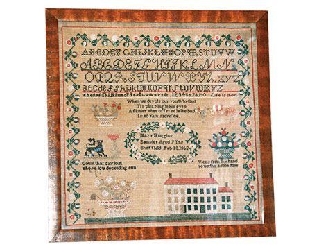 Vintage cross stitch samplers, amatuer pussies naked