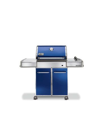 blue gas grill