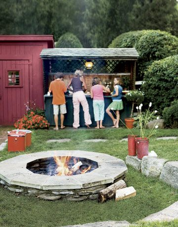 backyard bar pit
