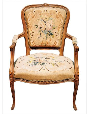 French Needlepoint Chair