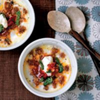 coddled eggs with tunisian flavors