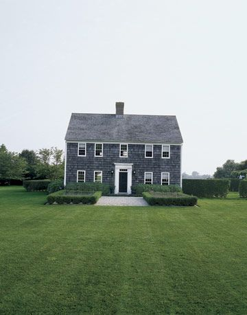 exterior of hamptons home