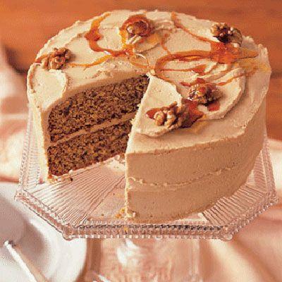 maple walnut cake