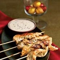 grilled chicken with citrus sauce