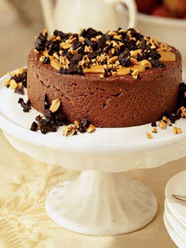 Chocolate Peanut Cheesecake