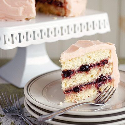kitchen chambord layer cake