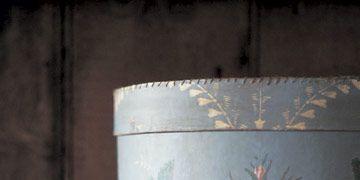 blue bandbox