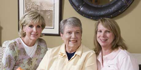 beth treuting hall her mother and sister