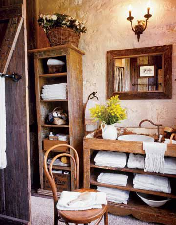 rustic bathroom ideas, bathroom decorating ideas