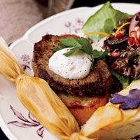 classic tenderloin of beef with butter croutons