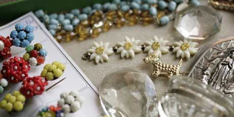 jewelry and crystals