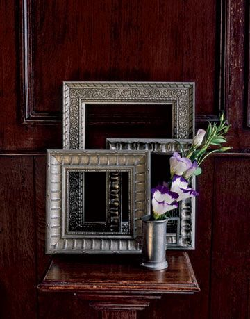 silver glass picture frames