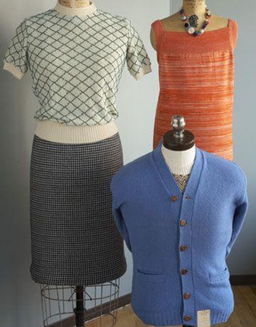 short sleeve sweater wool pencil skirt orange slip dress and blue cardigan for men
