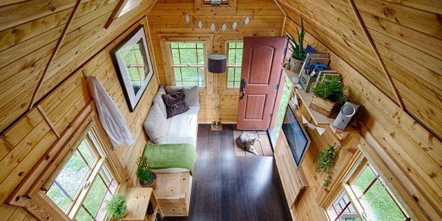 Tiny tack house tiny house tour for Tiny house family of 6