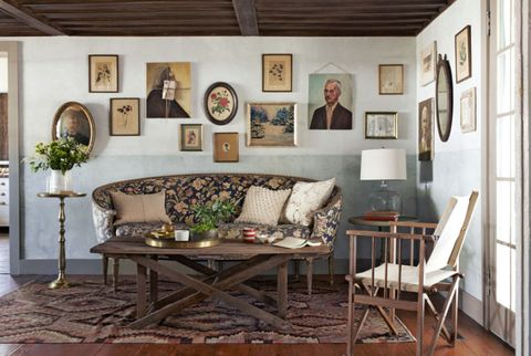 inspiring country style living room colors | 17 Inspiring Living Room Makeovers - Living Room ...