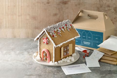 Diy gingerbread house kit recipe diy gingerbread house kit solutioingenieria Image collections