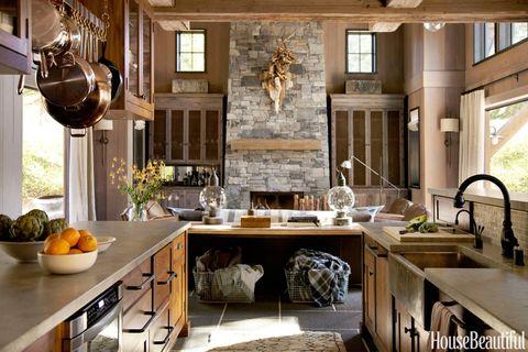 distressed limestone countertops
