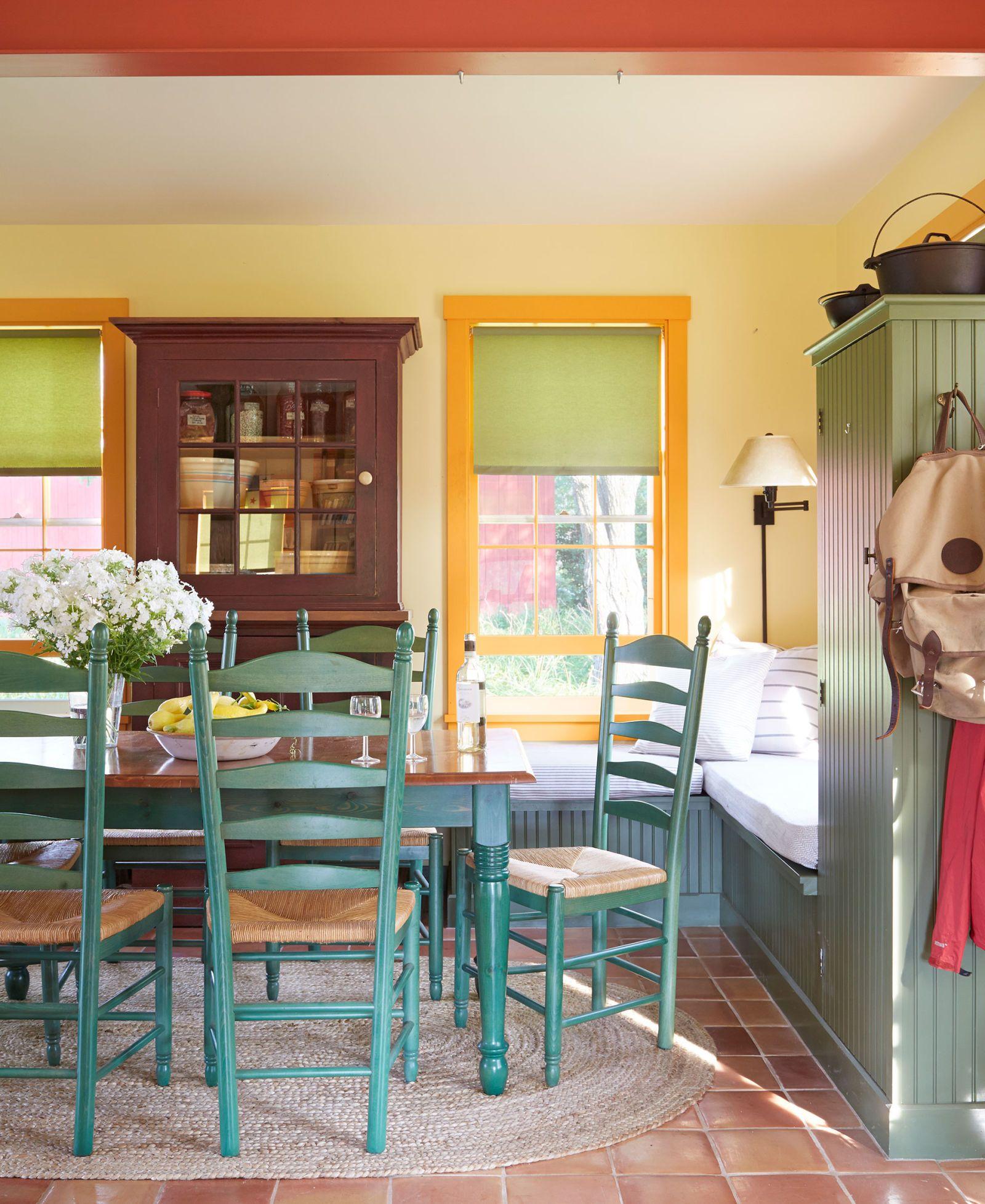 Image. Max Kim Bee. Farmhouse Dining Room