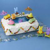 peeps pool cake