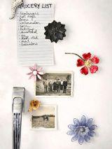 DIY: Flower Magnets