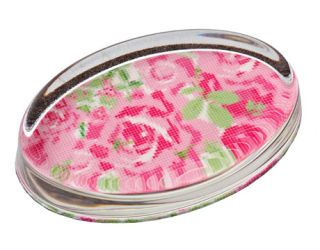 pink paperweight