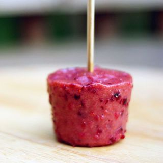 cranberry orange rhubarb popsicles