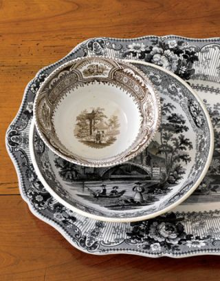 transferware from dennis and dad antiques