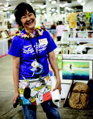 ilene wong at the all-collectors show