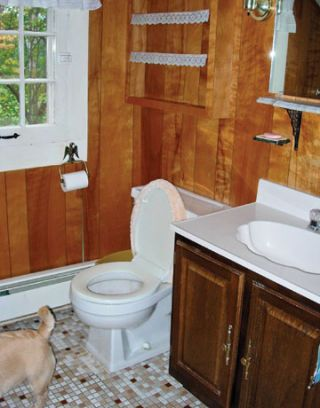 Thrifty Bathroom Redo -- Bathroom Makeover
