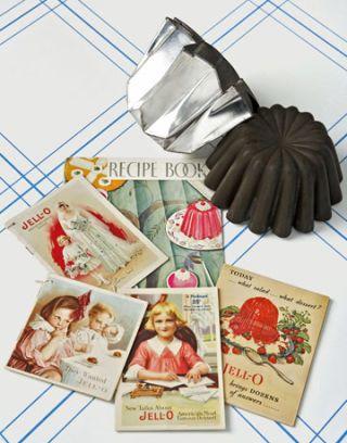 vintage jell o cookbooks