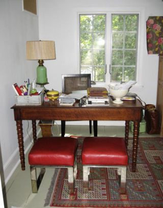 home office before makeover