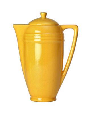 yellow coffeepot
