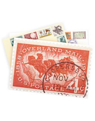 stamp stationery