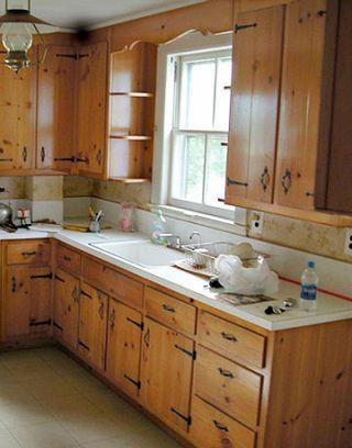 Small Kitchen Renovation White Kitchen Remodel
