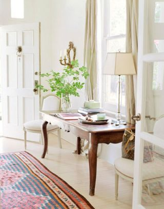 table in entryway