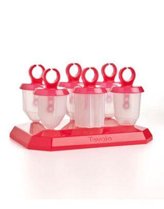 red jewel pop molds