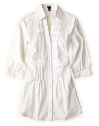 white tunic style shirt