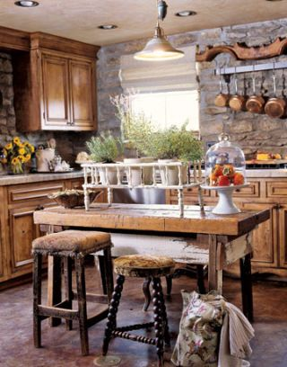 Walls and Floors - Kitchen Wall and Flooring Ideas