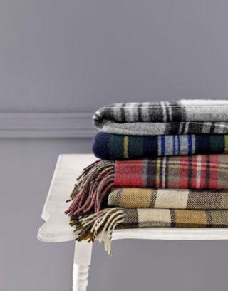 plaid blankets