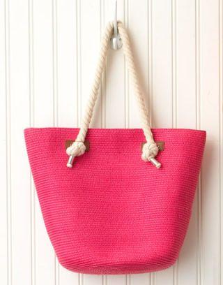 nautical handles bring shipshape flair to summer bags