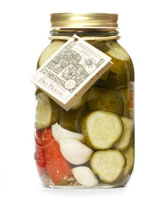 regional dill pickles from Texas