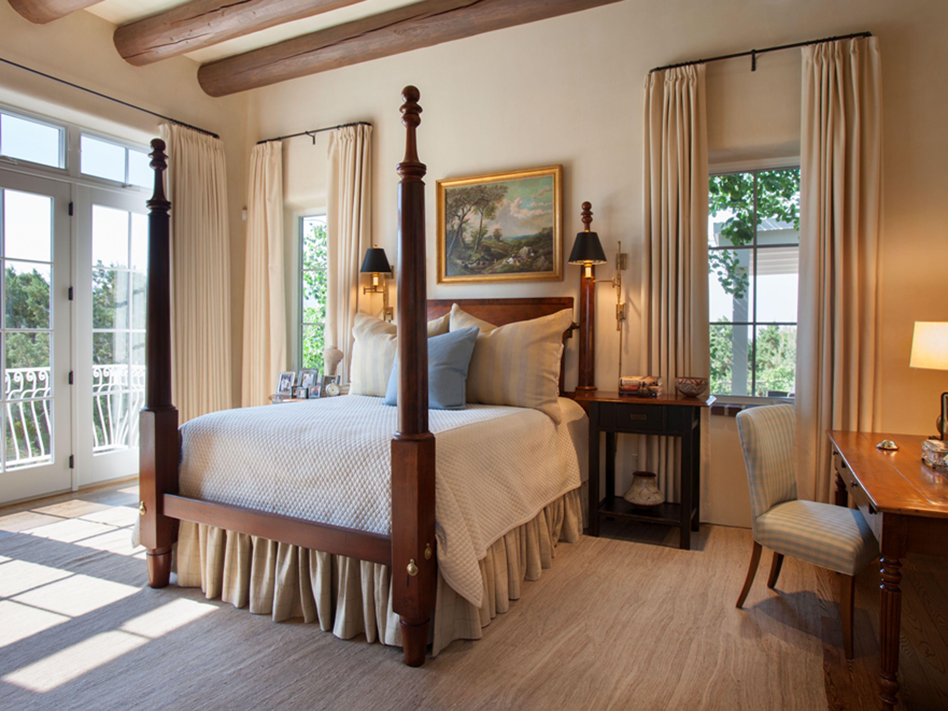 Santa Fe New Mexico Adobe Home - Southwestern Decorating Ideas on