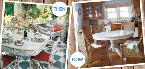Decorating with Wicker - Country Style Decorating