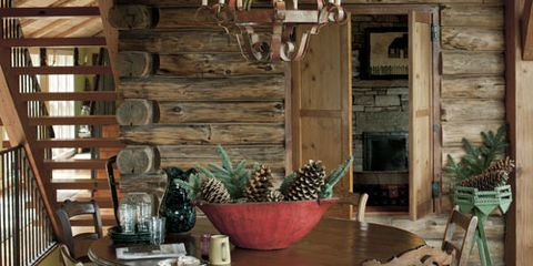 Log Cabin House Tour Decorating Ideas For Log Cabins Rh Countryliving Com